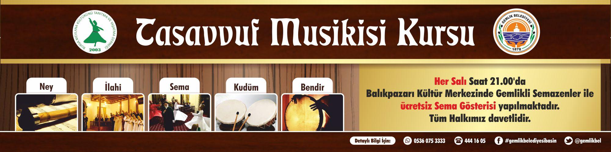 Tasavvuf Musikisi Kursu
