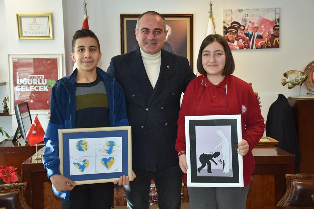 Gemlikli öğrencilerden uluslararası başarı