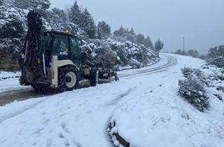 Gemlik Belediyesi'nden 24 saat kar mesaisi