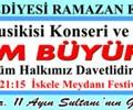 """""""Bayram Büyükoruç"""" Türk Tasavvuf Musikisi Konseri ve Sema Gösterisi"""