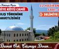 Selimiye Köyü Camii Açılış Töreni