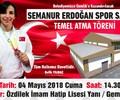 Semanur Erdoğan Spor Salonu Temel Atma Töreni