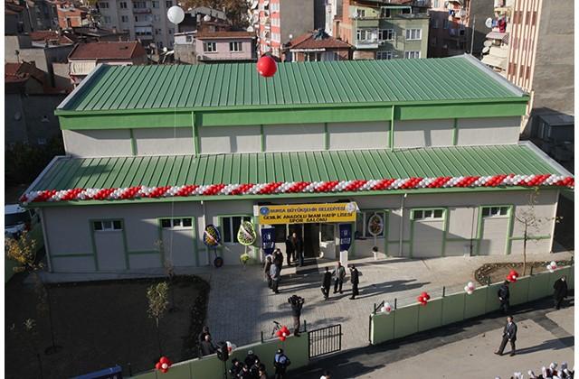 Gemlik Anadolu İhl Spor Salonu