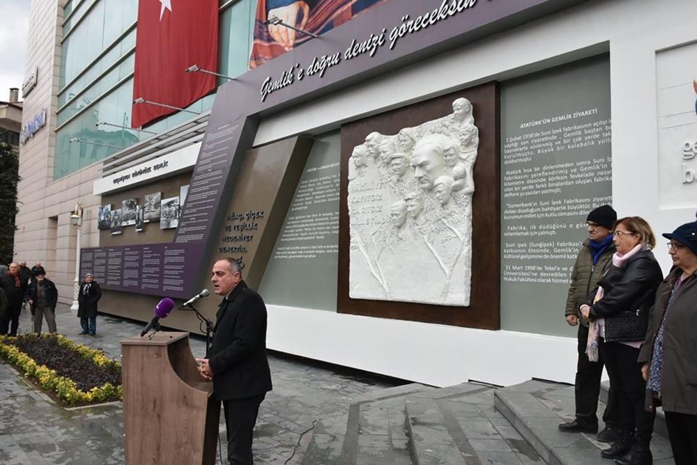 Yeni Belediye Binası'nda tarihi rölyef
