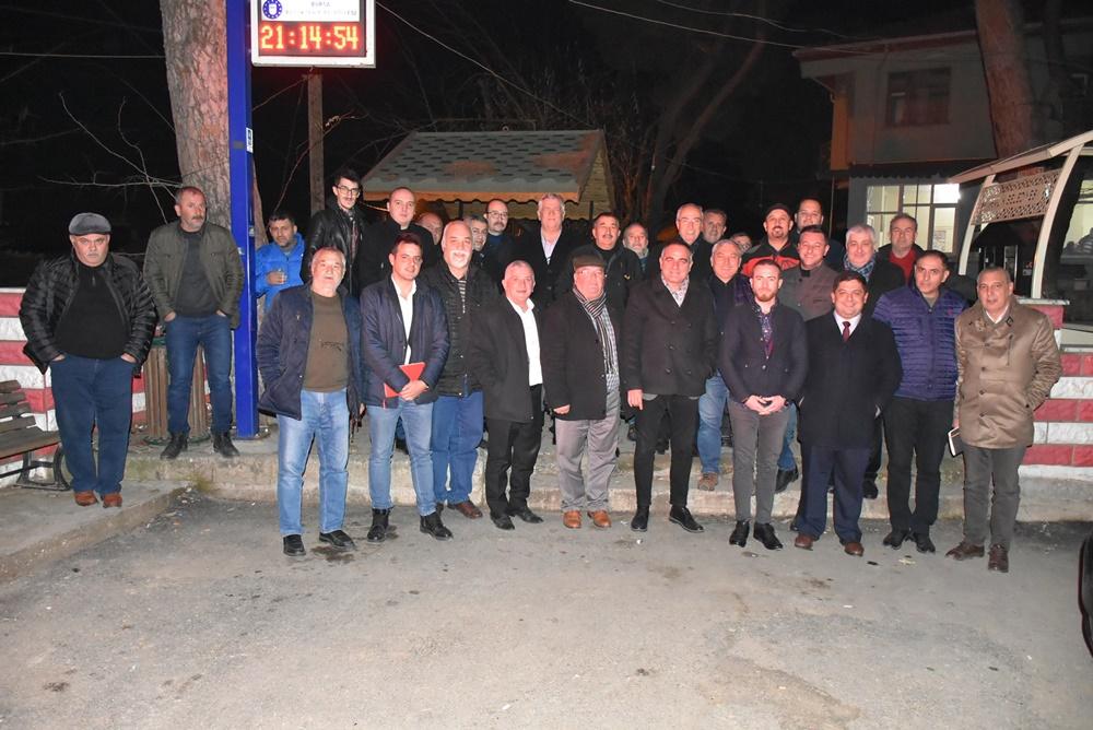 Köy ziyaretlerine devam