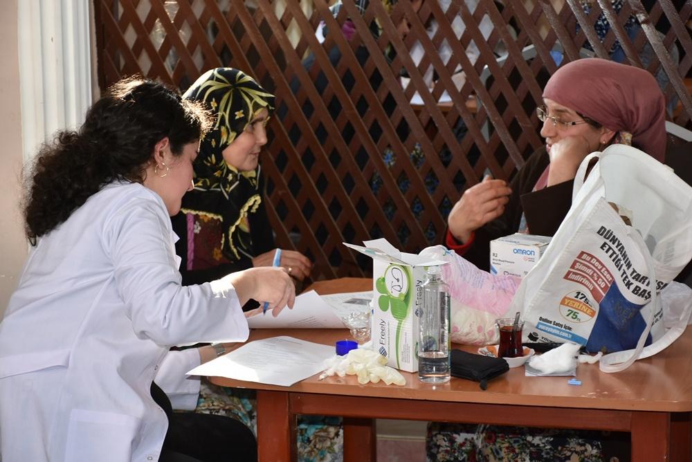 Köylerde sağlık taraması başladı