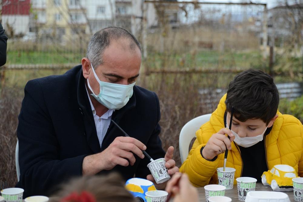 Başkan Sertaslan özel çocuklar ile buluştu