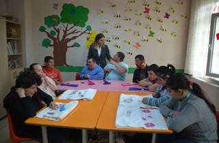 Başkan Serintürk Özel Öğrencileri Ziyaret Etti