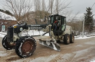 Kardan kapanan yollara anında müdahale