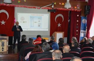 GEMLİK'TE SIFIR ATIK PROJESİ BİLGİLENDİRME TOPLANTISI YAPILDI