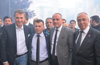 FİKRET ORMAN'DAN BAŞKAN SERTASLAN'A ZİYARET