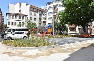 Balıkpazarı'nda yeni çocuk parkı