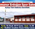 Semanur Erdoğan Spor Salonu Açılış Töreni