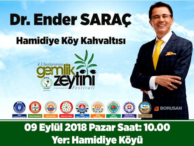 Söyleşi : Dr. Ender SARAÇ