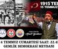 Ahmet Yenilmez ile 1915