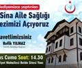 İbn-i Sina Aile Sağlığı Merkezi Açılış Töreni