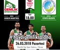 GemlikSpor - Fethiyespor Basketbol Maçı