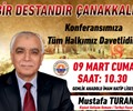 Konferans : Bir Destandır Çanakkale (Mustafa TURAN)