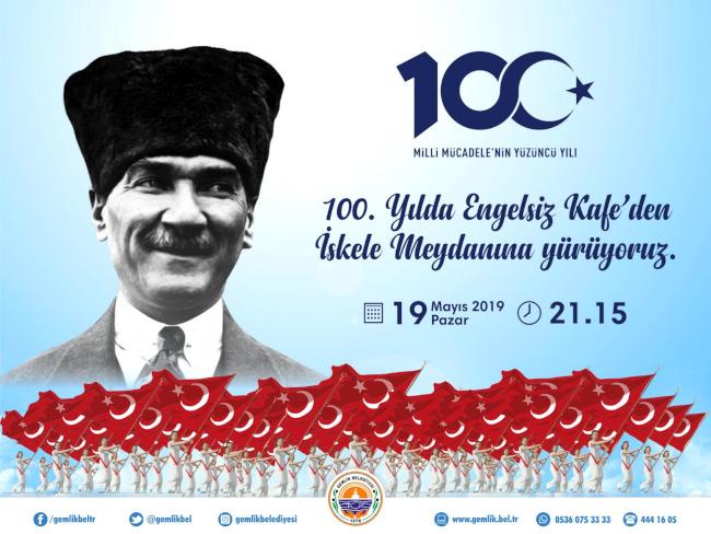 Milli Mücadelenin 100. Yılı Yürüyüşü