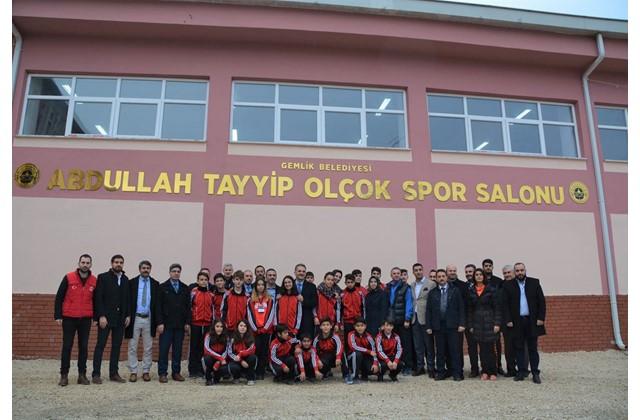 Abdullah Tayyip Olçok Spor Salonu